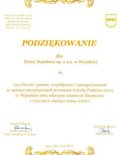 podziekowanie-rm-lazy-2011
