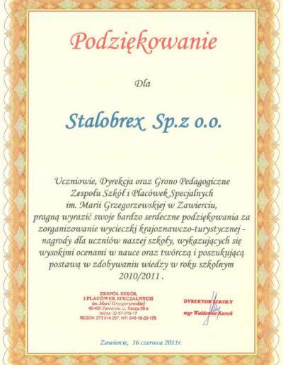 podziekowanie-zsips-zawiercie-2011